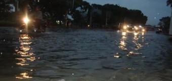 Kantor KUA Baturaja Tergenang Banjir