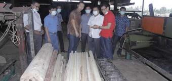 Pemkab Muba Jajaki Kerjasama Pemanfaatan Limbah Batang Kelapa Sawit