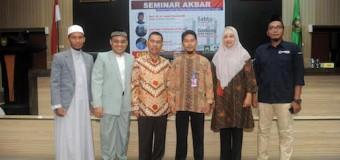 Ishak Mekki Buka Seminar Ekonomi Syariah RTYD Sumsel