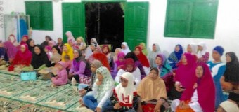 Satgas TMMD Ke-98 Kodim 0418/PLG Peringati Isra Mi'raj dengan masyarakat Tanjung Bubuk