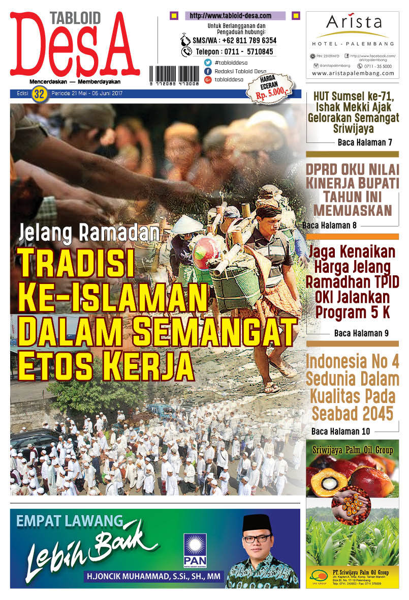 Cover Tabloid DESA 32