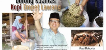 Joncik Muhammad Menuju Empat Lawang, Dorong Kualitas Kopi Empat Lawang