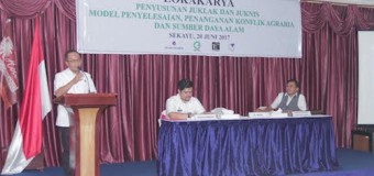 Muba Role Model Penyelesaian Konflik Agraria