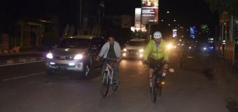 Danrem 044/Gapo dan Kabinda Monitor Wilayah Sambil Olahraga