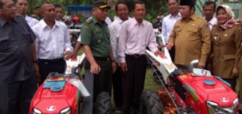 Kasdim 0421/LS Dampingi Bupati Lamsel Silaturahmi dengan Petani