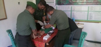 Giliran Koramil Kamboja Laksanakan Sunatan Massal