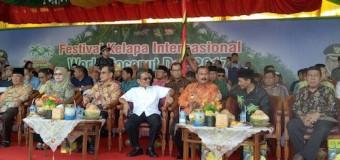 Pemkab Banyuasin Ikuti Festival Kelapa Internasional di Kabupaten Indragiri Hilir Riau