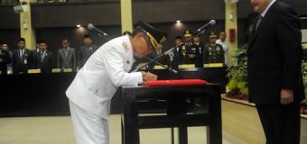 Pelantikan Bupati Banyuasin, Gubernur Titip Tiga Agenda Penting Sumsel
