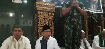 Ungkap Rasa Syukur, Kodim 0418/Palembang Gelar Doa Bersama