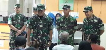 95 Warga Binaan Kodim 0418/Palembang Megikuti Skrining Katarak