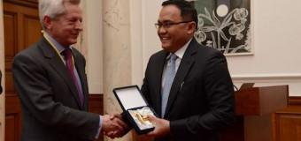 Zero Emisi di Muba Diganjar Penghargaan PM Inggris