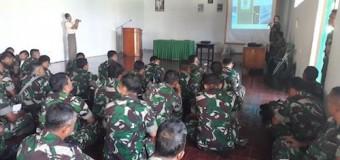 Tin Gator Korem 044/Gapo Sosialisasikan Bios 44 di Wilayah Kodim 0409/RL Bengkulu
