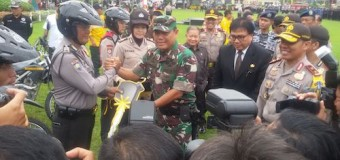 Prajurit TNI Bantu Polri Amankan Perayaan Natal dan Tahun Baru