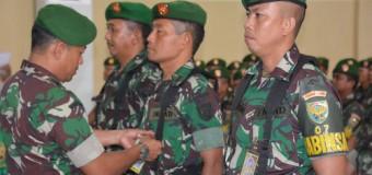 Kasdim 0418/Palembang Tutup Apel Danramil dan Babinsa Tersebar Tahun 2017