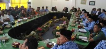 Danrem 044/Gapo Sosialisasi Penanggulangan Karhutla di Musirawas