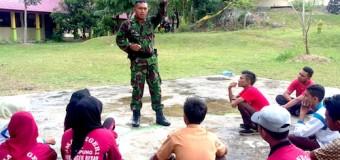 Ini Pesan Babinsa Kepada Generasi Muda di Desa Binaannya