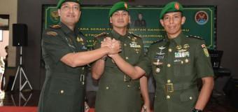 Komandan Kodim 0403/OKU Resmi Diserah Terimakan