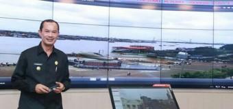"Harnojoyo Tinjau Smart City ""Lawang Jabo"" Command Center Diskominfo"