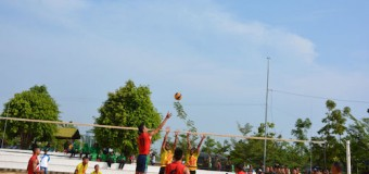 Tim Bola Volly Korem 044/Gapo Tundukkan Yonarmed dan Yonzipur