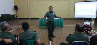 Bios 44 Disosialisasikan Di Kodim 0609/Kab. Bandung Jawa Barat