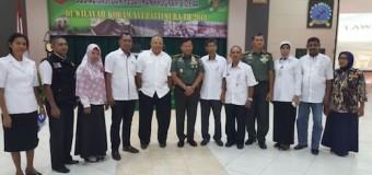 Danrem 044/Gapo Sosialisasikan Bios 44 di Kodam XVI/Pattimura, Wujudkan Ketahanan Pangan di Maluku