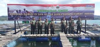 Bios 44 Untuk Peningkatan Produktivitas Ikan Keramba di Waiheru Ambon