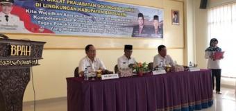 125 Bidan PTT dan Tenaga Penyuluhan Banyuasin Ikuti Diklat Prajabatan