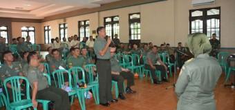 Cegah Wabah Difteri, Denkesyah 02.04.04 Palembang Gelar Sosialisasi