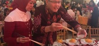 Cagub Sumsel Aswari Sampaikan Pesan Kerukunan Pada Perayaan Imlek