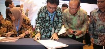 Nasrun Umar Tandatangani NPHD Peningkatan dan Pengelolaan Sistem Irigasi IPDMIP