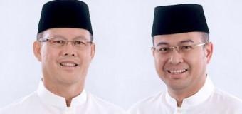 SAH! Aswari-Irwansyah Peserta Pilkada Sumsel 2018