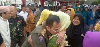 Lepas Irwansyah, Pejabat Teras Pangkalpinang Menangis Bahagia