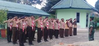 Babinsa Koramil 418-05/Lemabang Bina Pramuka Saka Wira Kartika