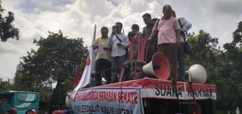IKSS dan DPRD Muba Demo ke Kemendagri, Segera Bentuk Tim Terpadu