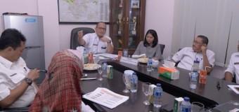 Pemkab dengar Paparan PT Jaya Trade Indonesia Tentang Pelaksanaan Aspal Karet di Muba
