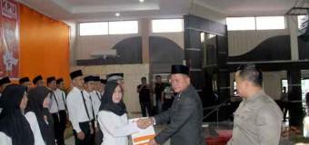 Ketua KPU Muba Lantik PPS Kecamatan