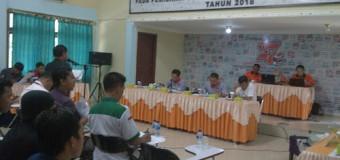 KPU Muara Enim Gelar Rapat Pleno Terbuka Tentukan Daftar Pemilih Sementara