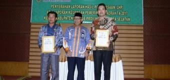 LHP Tercepat di Indonesia, Muba Raih Opini WTP