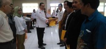 Penyerahan Hasil Litmin Perbaikan Berkas Dukungan Balon Anggota DPD RI Sumsel