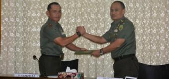 Diakhir Kunjungannya, Tim Wasrik Itdam II/Sriwijaya Gelar Taklimat Akhir Di Makorem 044/Gapo