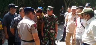 Jaga Situasi Tetap Kondusif Pasca Bentrok, Pimpinan TNI-Polri Wilayah Sumsel Datangi Tempat Kejadian