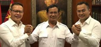 Prabowo Hadiri Halal Bihalal Gerindra Dukung Aswari-Irwansyah di Sumsel