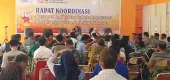 KPU OKI Akan Gelar Rapat Pleno Rekapitulasi Penghitungan Suara Pilkada 2018