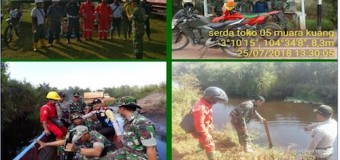 Cegah Karhutla, Personel Kodim 0402/OKI Patroli ke Desa-desa