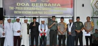 Korem 044/Gapo Gelar Do'a Bersama TNI-Polri Dengan Komponen Masyarakat Untuk Korban Bencana Alam