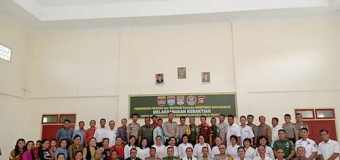Umat Nasrani Kodim 0406/Mura Gelar Doa Bersama Untuk Korban Gempa dan Tsunami Di Palu, Sigi & Donggala