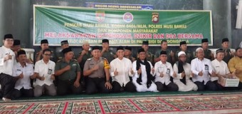 Kodim 0406/Mura Gelar Zikir dan Doa Bersama Untuk Korban Gempa dan Tsunami Di Palu, Sigi & Donggala