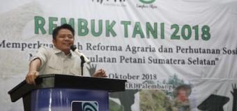 Gubernur HD: Kembalikan Kejayaan Sumsel Sebagai Lumbung Pangan