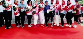 Pelari Putri Korem 044/Gapo Masuk 10 Besar Dalam TNI Marathon Mandalika 2018