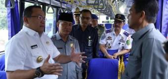 Dodi Resmikan Operasional Damri, Ongkos Palembang-Sekayu Rp 30 Ribu